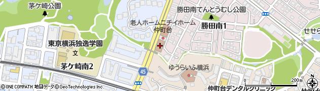 神奈川県横浜市都筑区勝田南1丁目1-51周辺の地図