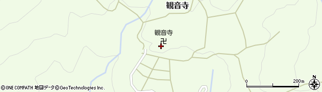 京都府舞鶴市観音寺周辺の地図