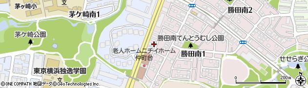 神奈川県横浜市都筑区勝田南1丁目1-40周辺の地図