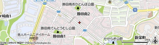 神奈川県横浜市都筑区勝田南2丁目18-5周辺の地図