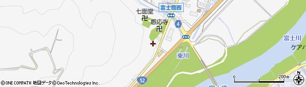 山梨県南巨摩郡富士川町鰍沢明神町周辺の地図