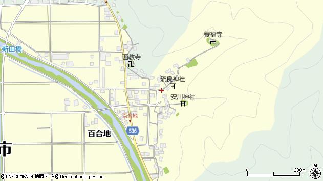 〒668-0875 兵庫県豊岡市百合地の地図