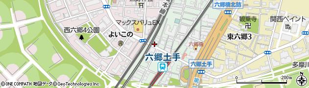 えびす丼丸 六郷店周辺の地図