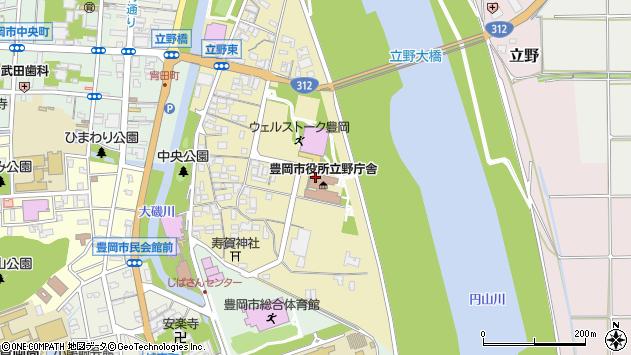 〒668-0046 兵庫県豊岡市立野町の地図