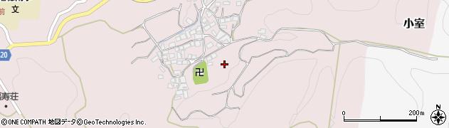 山梨県南巨摩郡富士川町小室土録周辺の地図