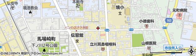 鳥取県境港市湊町周辺の地図