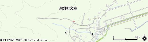 滋賀県長浜市余呉町文室周辺の地図