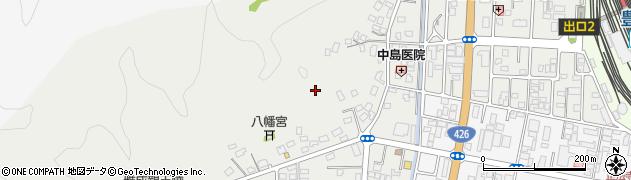兵庫県豊岡市高屋周辺の地図
