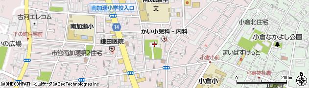 長弘寺周辺の地図