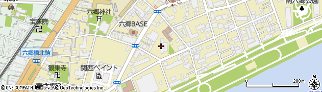 都営南六郷三丁目アパート周辺の地図