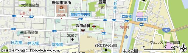 立正寺周辺の地図