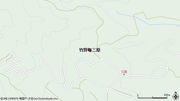 〒669-6355 兵庫県豊岡市竹野町三原の地図