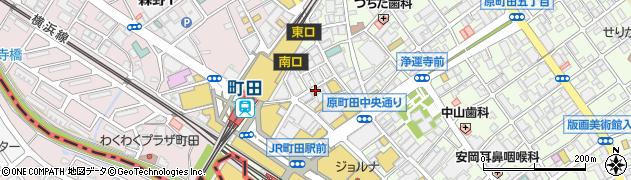 らーめんせい家匠 町田店周辺の地図