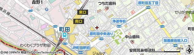 カラオケルーム 歌広場 町田東口店周辺の地図
