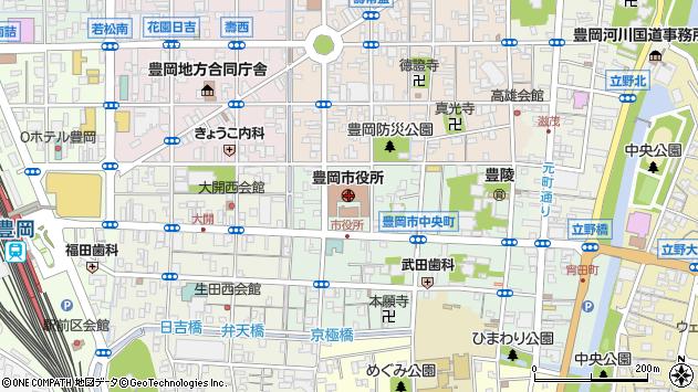 〒668-0000 兵庫県豊岡市(以下に掲載がない場合)の地図