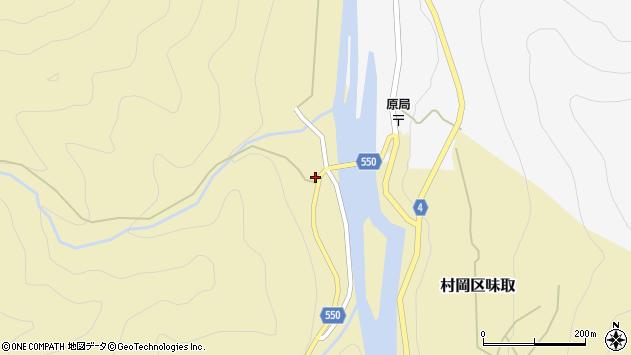 〒667-1363 兵庫県美方郡香美町村岡区味取の地図