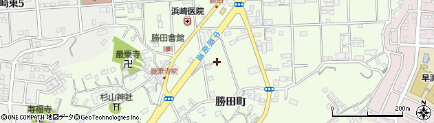 神奈川県横浜市都筑区勝田町の地図 住所一覧検索 地図マピオン