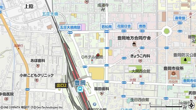 〒668-0031 兵庫県豊岡市大手町の地図