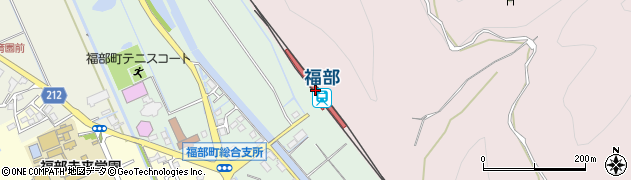 鳥取県鳥取市周辺の地図