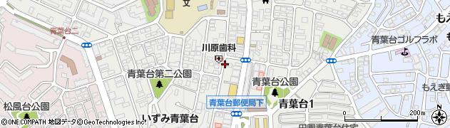 神奈川県横浜市青葉区青葉台周辺の地図