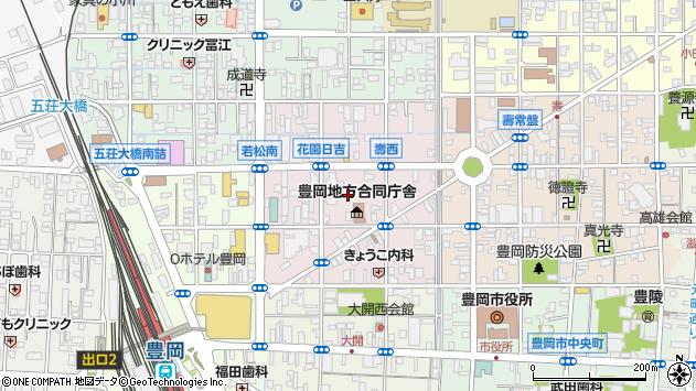 〒668-0024 兵庫県豊岡市寿町の地図
