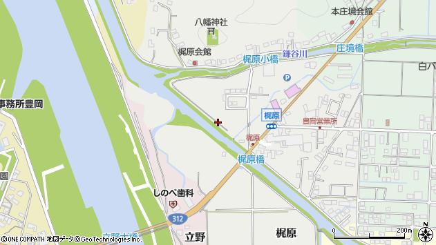 〒668-0871 兵庫県豊岡市梶原の地図