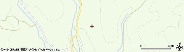 岐阜県中津川市蛭川(和田)周辺の地図