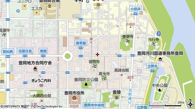 〒668-0021 兵庫県豊岡市泉町の地図