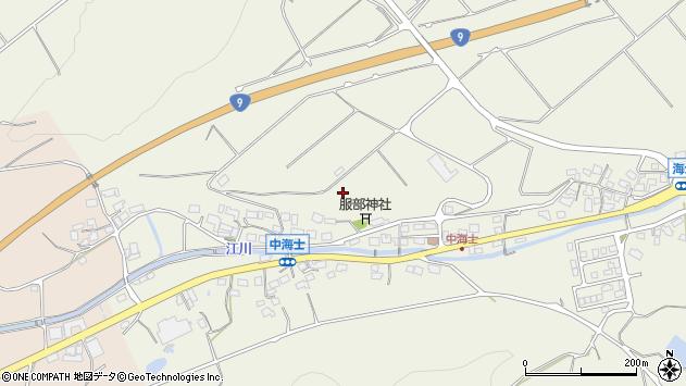 〒689-0106 鳥取県鳥取市福部町海士の地図
