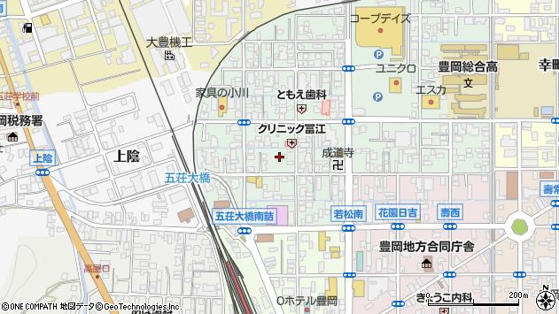 〒668-0027 兵庫県豊岡市若松町の地図
