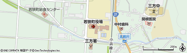 福井県三方上中郡若狭町周辺の地図