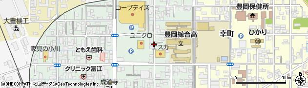 兵庫県豊岡市加広町周辺の地図