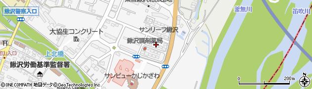 山梨県南巨摩郡富士川町鰍沢北新町周辺の地図