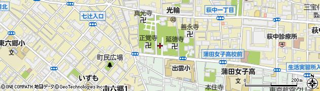 福称寺周辺の地図