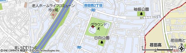 神奈川県横浜市青葉区荏田西周辺の地図