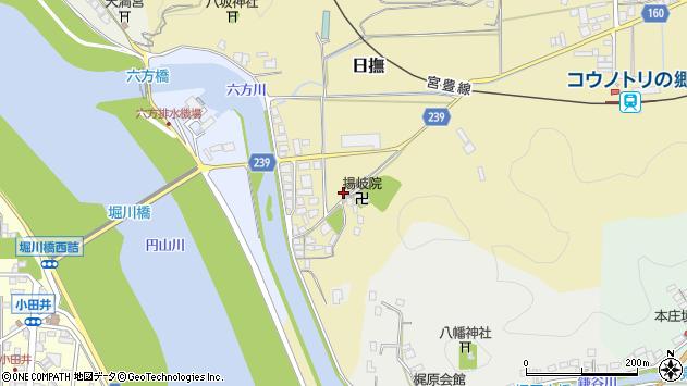 〒668-0815 兵庫県豊岡市日撫の地図