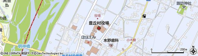 長野県豊丘村(下伊那郡)周辺の地図