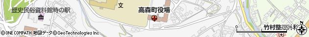 長野県下伊那郡高森町周辺の地図