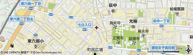 まごころ弁当 大田・大森中央店周辺の地図
