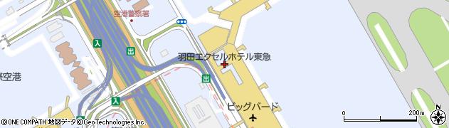 羽田エクセルホテル東急周辺の地図