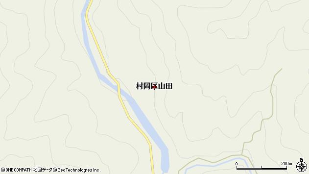 〒667-1302 兵庫県美方郡香美町村岡区山田の地図