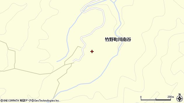 〒669-6354 兵庫県豊岡市竹野町川南谷の地図