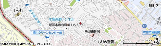 都営木曽森野第1アパート周辺の地図