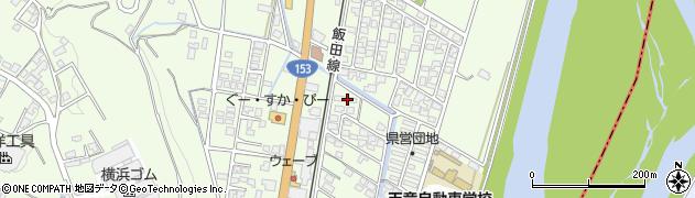 長野県下伊那郡高森町吉田周辺の地図