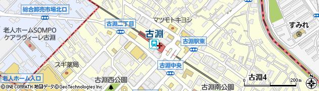 神奈川県相模原市南区周辺の地図