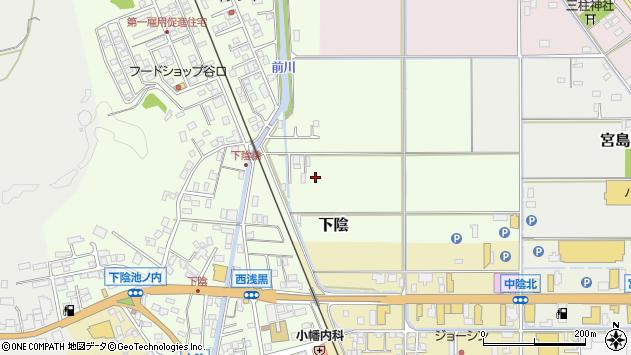 〒668-0012 兵庫県豊岡市下陰の地図