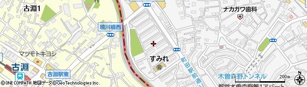 都住宅供給公社境川住宅周辺の地図