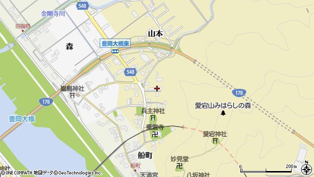 〒668-0807 兵庫県豊岡市山本の地図