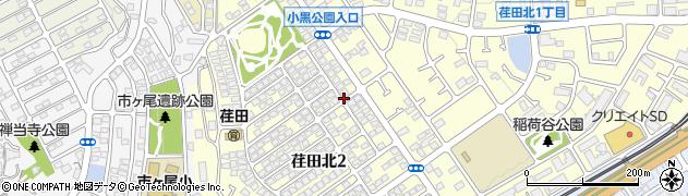神奈川県横浜市青葉区荏田北周辺の地図