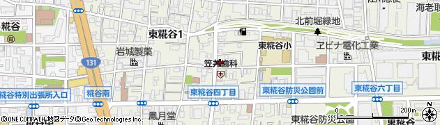 東京都大田区東糀谷周辺の地図